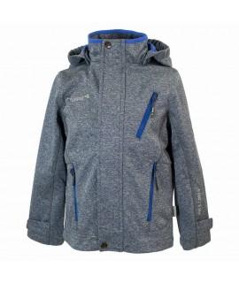 Куртка Softshell JAMIE Huppa серая