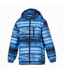 Куртка детская демисезонная JANEK Huppa 93335 синяя с принтом
