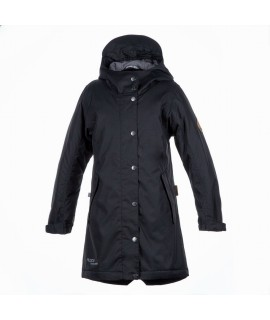 Куртка детская демисезонная JANELLE Huppa черная