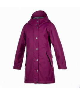 Куртка детская демисезонная JANELLE Huppa 80034 бордовая
