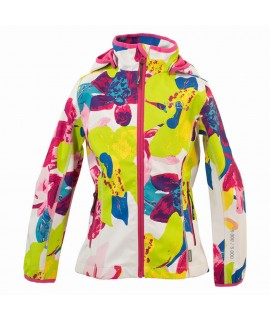 Куртка Softshell JANET Huppa белая