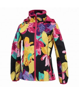 Куртка Softshell JANET Huppa темно-серая