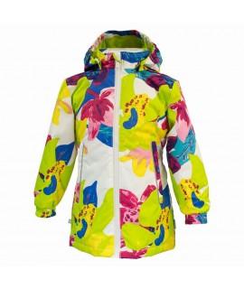 Куртка детская демисезонная June Huppa белая