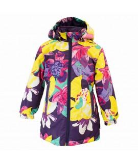 Куртка детская демисезонная JUNE Huppa 81373 фиолетовая