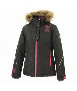 Термокуртка детская зимняя KRISTIN Huppa 00009 черная
