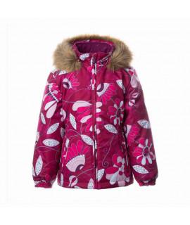 Зимняя термо-куртка детская HUPPA MARII 04034 бордовая