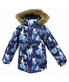 Термокуртка детская зимняя MARINEL Huppa 72586 синяя