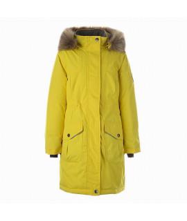 Зимняя куртка детская MONA 2 Huppa 70002 желтая