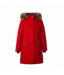 Зимняя куртка детская MONA 2 Huppa 70004 красная