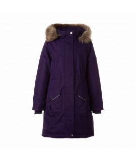 Зимняя куртка детская MONA 2 Huppa 70073 темно-фиолетовая