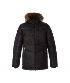 Зимняя куртка-пуховик MOODY 1 Huppa 00018 серая