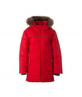 Зимняя куртка-пуховик MOODY 1 Huppa 70004 красная