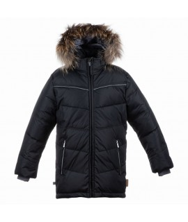 Куртка-пуховик зимняя MOODY 1 Huppa 80009 черная
