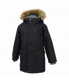 Термокуртка детская зимняя VESPER Huppa темно-серая
