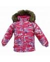 Термокуртка детская зимняя VIRGO Huppa 71163 фуксия
