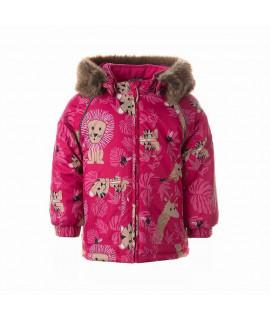 Зимняя термокуртка детская VIRGO Huppa 03063 розовая