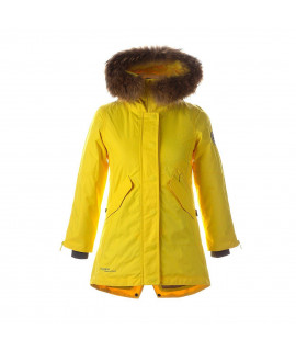 Зимняя куртка-парка HUPPA VIVIAN 1 желтая