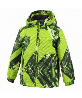 Куртка детская демисезонная Jody Huppa 82347 зеленая