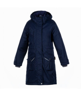Куртка детская демисезонная MOONI Huppa 70086 темно-синяя