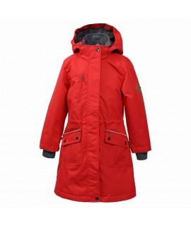 Куртка парка детская демисезонная Mooni Huppa красная