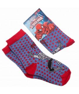Носки детские Человек Паук Disney (Sun City) RHQ0683 синие-красные