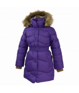 Пальто-пуховик детское зимнее GRACE 1 Huppa 70053 фиолетовый