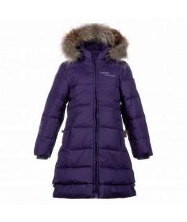 Пальто-пуховик детское зимнее PARISH Huppa 70073 фиолетовое
