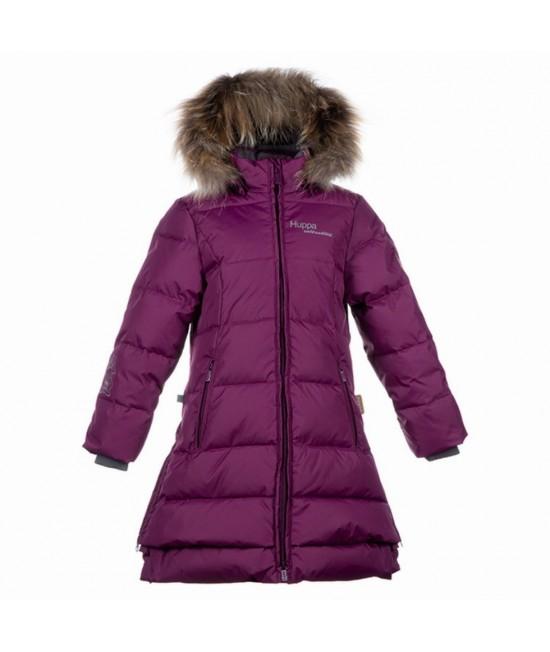Пальто-пуховик детское зимнее PARISH Huppa 80034 бургунд