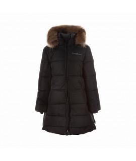 Пальто-пуховик детское зимнее PARISH Huppa 00009 черное