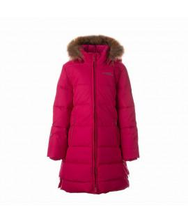Пальто-пуховик детское зимнее PARISH Huppa 00063 розовое