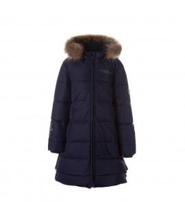 Пальто-пуховик детское зимнее PARISH Huppa 00086 синее