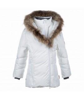 Пальто-пуховик детское зимнее ROYAL Huppa 00020 белое