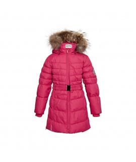 Пальто-пуховик детское зимнее YASMINE Huppa 00063 фуксия