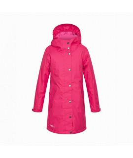 Пальто детское демисезонное JANELLE Huppa 00063 розовое