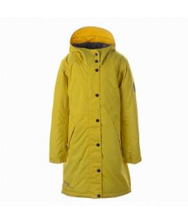 Пальто детское демисезонное JANELLE Huppa 70002 желтое