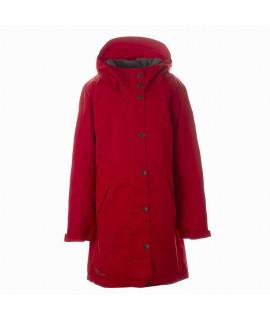 Пальто детское демисезонное JANELLE Huppa 70004 красное