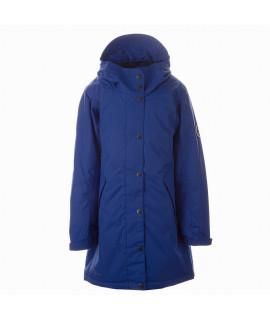 Пальто детское демисезонное JANELLE Huppa 70035 синее