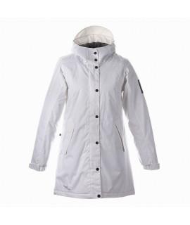 Пальто детское демисезонное JANELLE Huppa 00020 белые