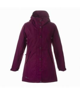 Пальто детское демисезонное JANELLE Huppa 80034 вишневое