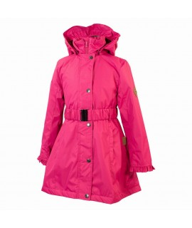Пальто детское демисезонное LEANDRA HUPPA фуксия