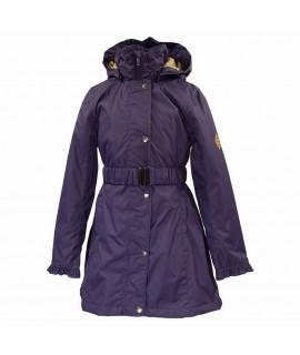 Пальто детское демисезонное LEANDRA HUPPA фиолетовое