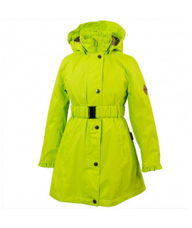 Пальто детское демисезонное LEANDRA HUPPA 00047 лайма