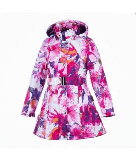 Пальто детское демисезонное LEANDRA HUPPA 91120 белый
