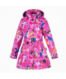 Пальто детское демисезонное LEANDRA HUPPA 91263 розовый