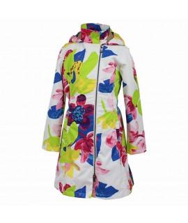 Пальто детское демисезонное LUISA Huppa 81320 белое