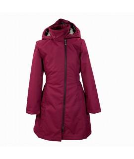 Пальто детское демисезонное LUISA Huppa 80034 бордовое
