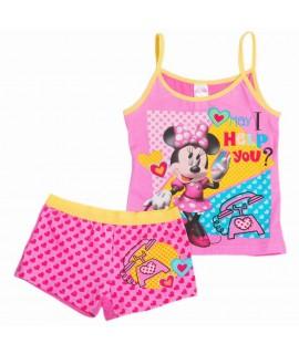 Пижама детская Минни Маус Disney Arditex WD12005 розовая