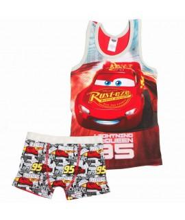 Пижама Тачки 3 Disney Arditex WD11949 красная