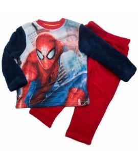 Комплект из флиса Человек паук Disney (Sun City) HQ2148 синий с красным