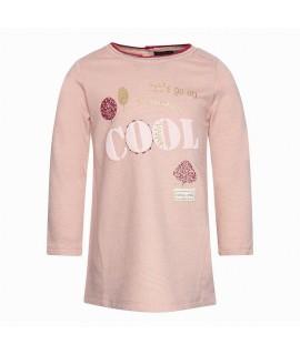 Платье с начесом Cool Canada House S1BA4109-707VC розовое